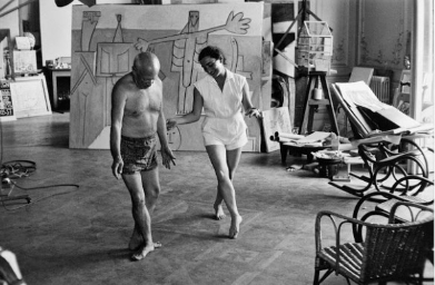 picasso-and-genevieve