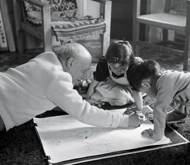 picasso-and-his-kids